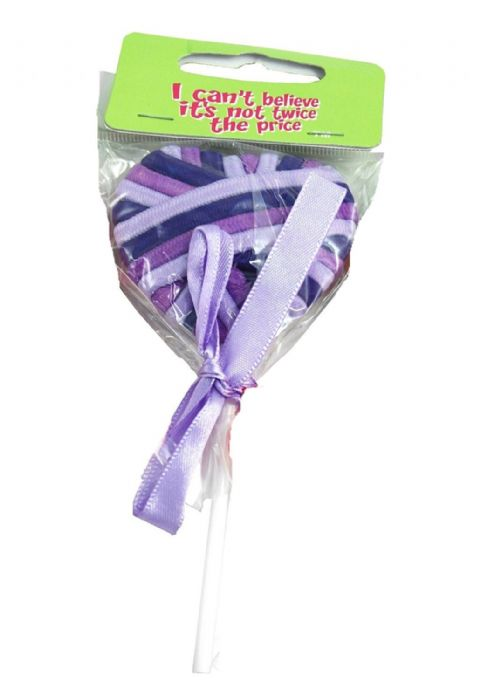 Lollipop design 16 Elastic hair band gift set (Purple)